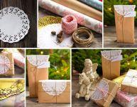 10 bricolages avec des napperons de dentelle