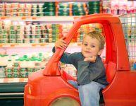 Trucs pour faire l'épicerie avec un enfant turbulent