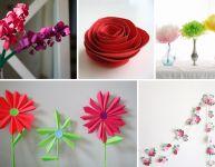 Bricoler des fleurs artificielles