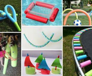 15 utilisations des nouilles de piscine