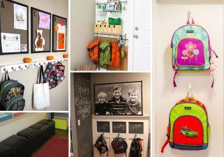 8 façons de ranger le sac d'école