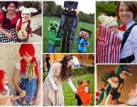 Duos de costumes pour parents et enfants