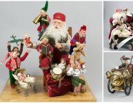 Invasion de pères Noël au Musée Stewart!