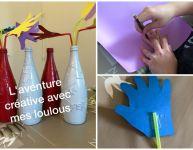 Transformer des bouteilles en vase