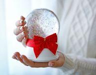 Fabriquer un globe de neige maison