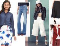 Les incontournables de la mode Printemps 2016