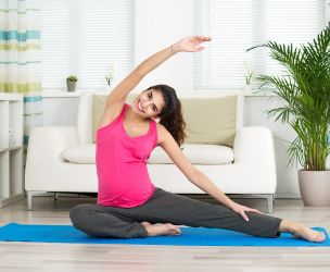 Grossesse - 8 exercices de flexibilité