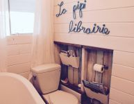 Bienvenue dans la pipi-librairie!