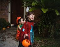 Mon enfant veut passer l'Halloween seul