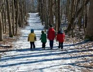 Une première randonnée pédestre en famille