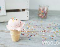 Pâte à modeler crème glacée comestible - Wooloo