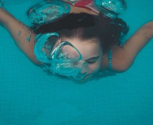 Near Drowning During Swimming Lesson, Reminds Us That an Accident Can Happen Anytime