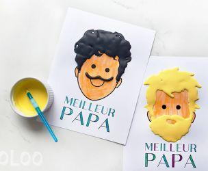 La barbe à Papa en peinture 3D