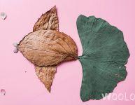 Bricoler un paysage avec des feuilles d'automne