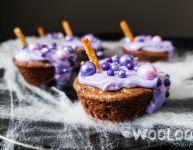 Chaudron de sorcière à croquer – Brownies d'Halloween