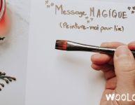 Lettre magique du lutin de Noël - Wooloo