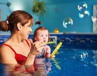 Apprendre à nager grâce aux bulles!