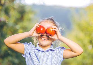 Bricoler avec des pommes