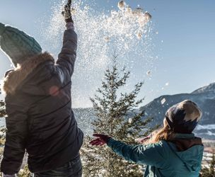 6 activities to encourage your children to play outside during winter!