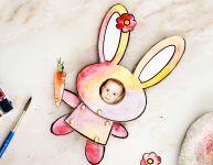 Faire un mignon lapin articulé - Wooloo