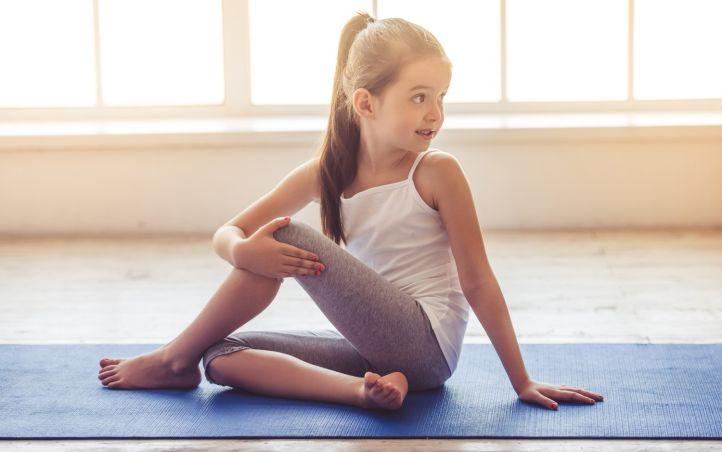 Yoga pour enfants, on aime ça!